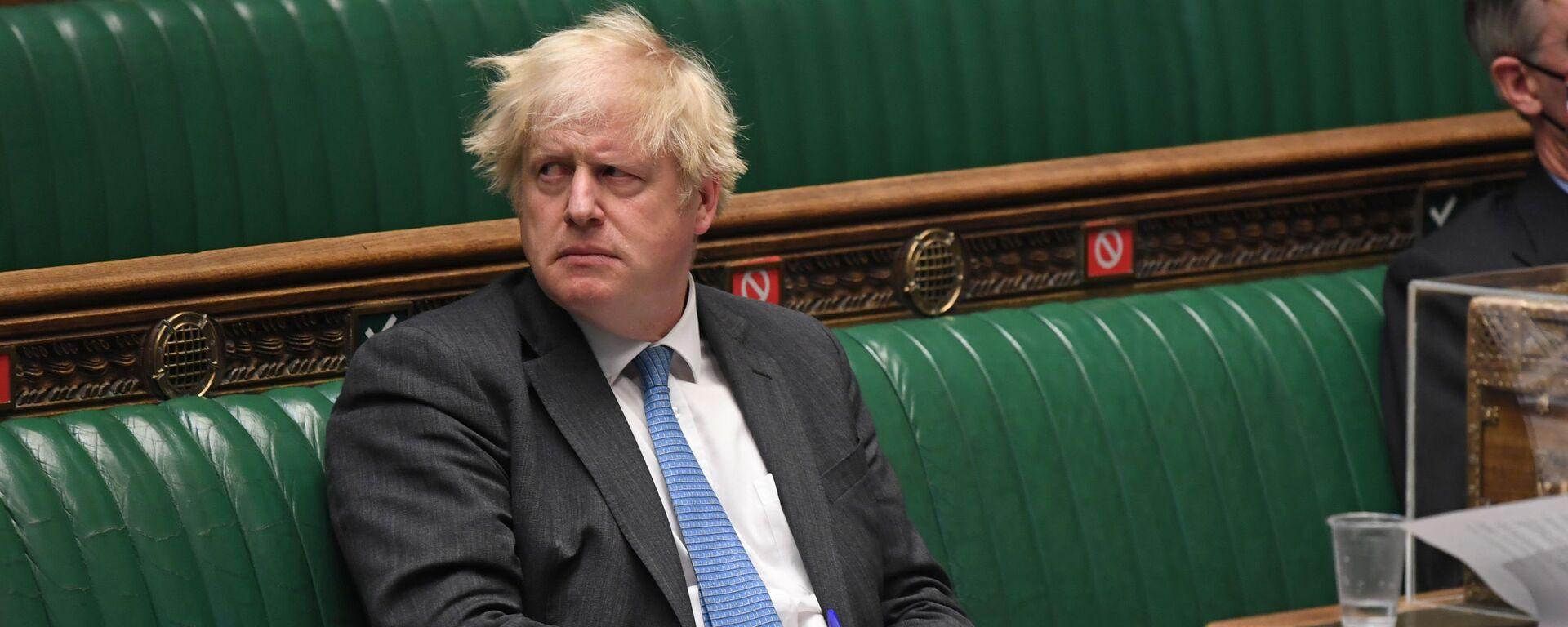 英国のジョンソン首相 - Sputnik 日本, 1920, 16.09.2021