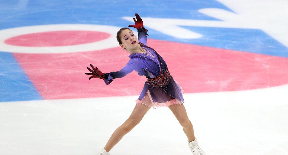 ソフィア・アカチエワ選手