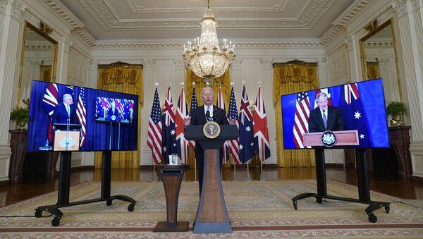 米英豪の新たな軍事同盟「AUKUS」について我われは何を知っているのか? - Sputnik 日本