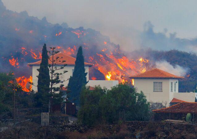 ラ・パルマ島噴火