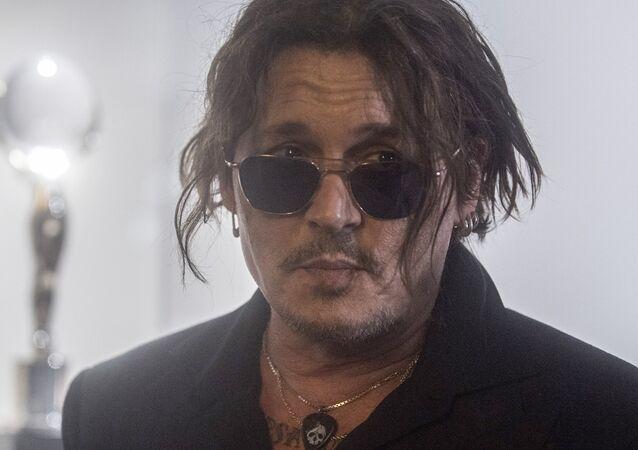 米俳優ジョニー・デップ