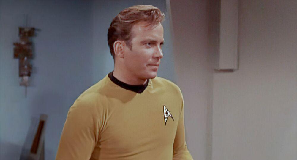 米国のSFドラマ『スタートレック』のカーク船長役で知られる俳優のウィリアム・シャトナーさん