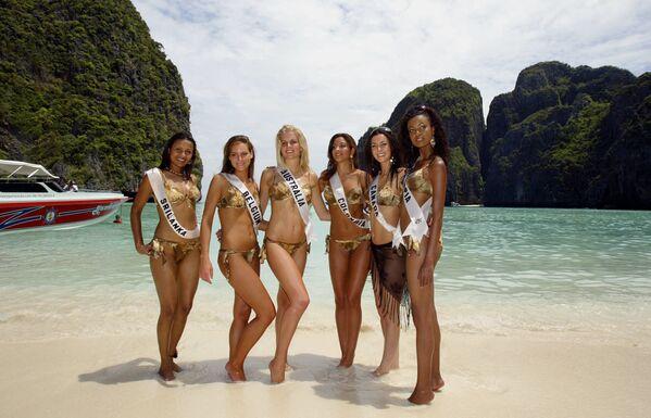 『ザ・ビーチ』のロケ地となったタイ・ピピ島のマヤビーチ - Sputnik 日本