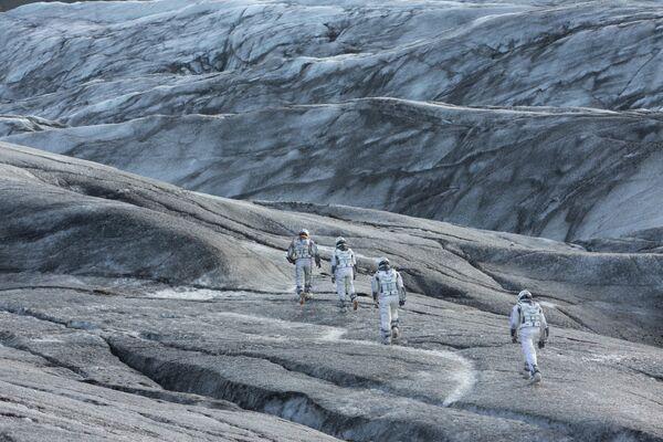 映画『インターステラー』(2014)に登場した氷の惑星 - Sputnik 日本