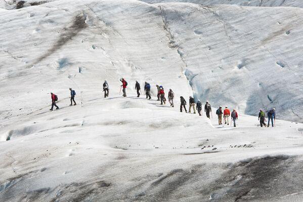 『インターステラー』のロケ地となったアイスランド最大の氷河、バトナ氷河 - Sputnik 日本
