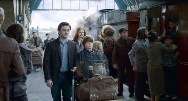映画『ハリー・ポッターと死の秘宝 PART2』(2011)に登場する駅 - Sputnik 日本