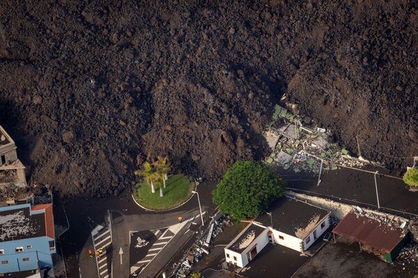 エル・パソの住宅街に流れ込む溶岩 - Sputnik 日本