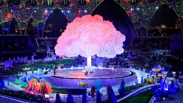 アラブ首長国連邦(UAE)・ドバイで開幕した万博のオープニングセレモニー - Sputnik 日本