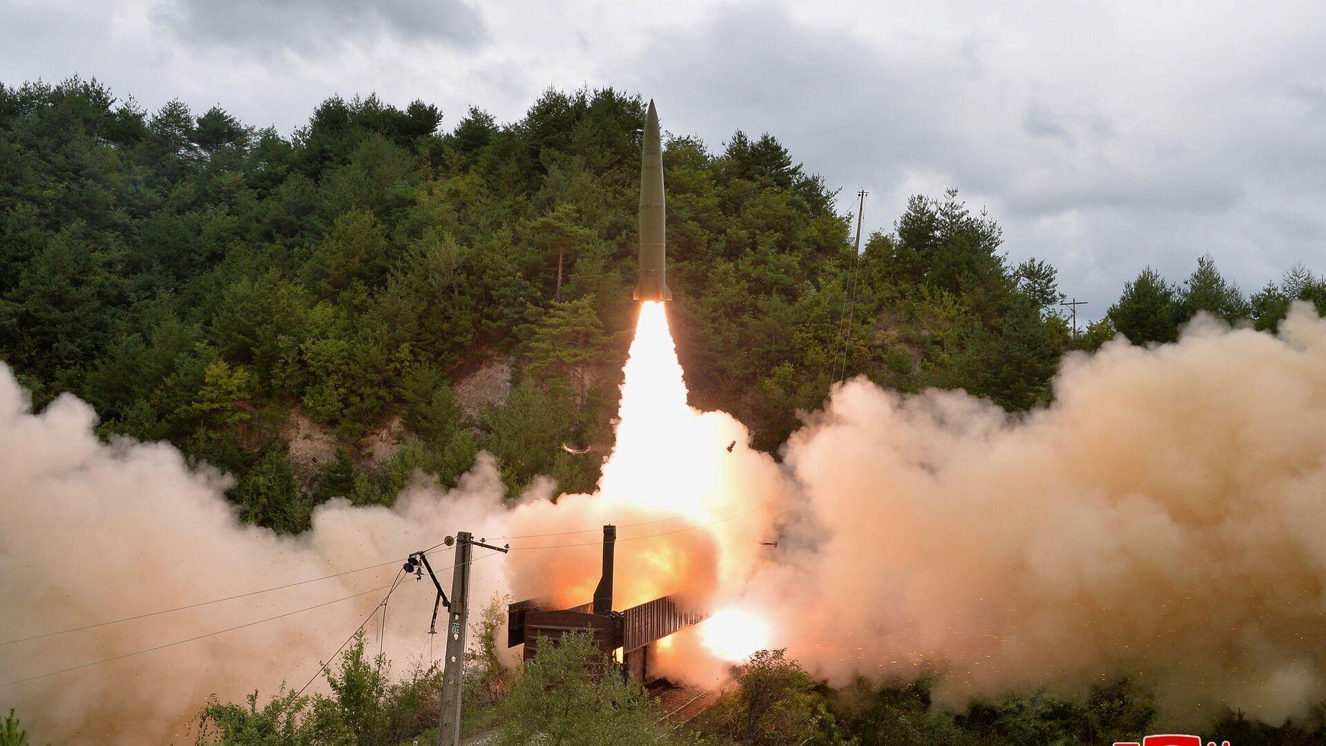北朝鮮 ミサイル発射実験について会合を開いた国連安全保障理を非難 - Sputnik 日本, 1920, 03.10.2021