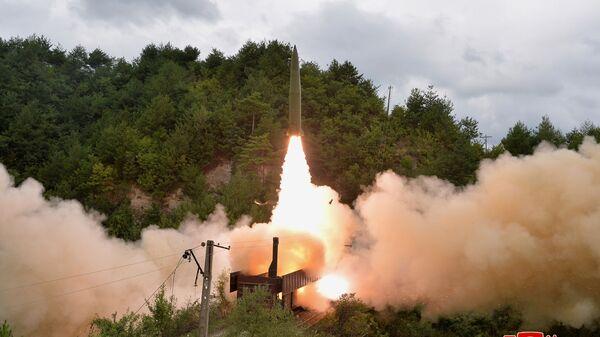 北朝鮮 ミサイル発射実験について会合を開いた国連安全保障理を非難 - Sputnik 日本