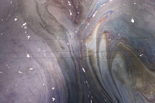 原油で汚染されたタルバート湿原 - Sputnik 日本