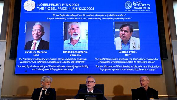 2021年ノーベル物理学賞受賞者 - Sputnik 日本