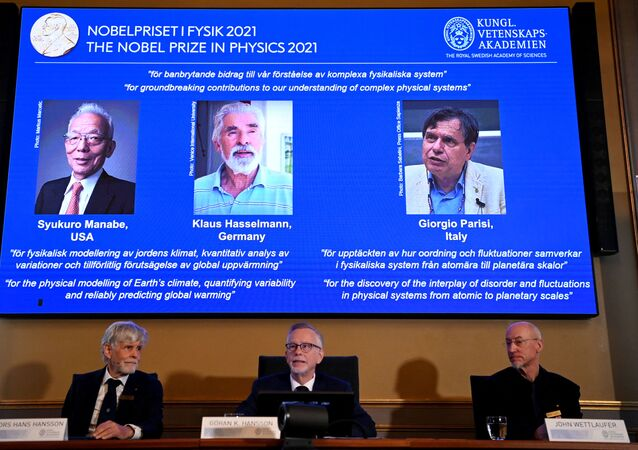 2021年ノーベル物理学賞受賞者