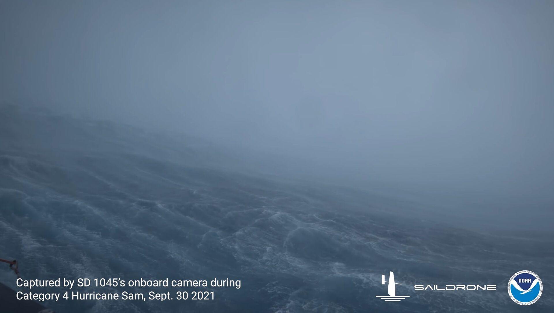 世界初 海洋ドローンがハリケーン内部の撮影に成功 - Sputnik 日本, 1920, 06.10.2021