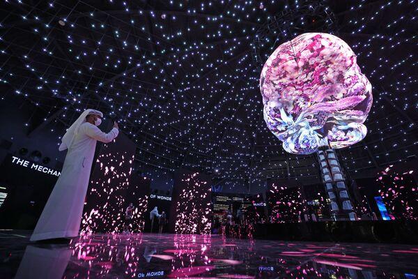 アラブ首長国連邦(UAE)で開催中のドバイ万博に設置されたロシア館 - Sputnik 日本