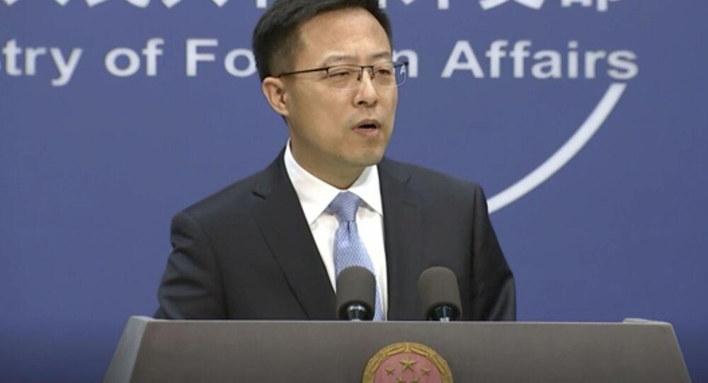 中国外交部 米国に原潜の衝突事件の詳細公開を呼びかけ