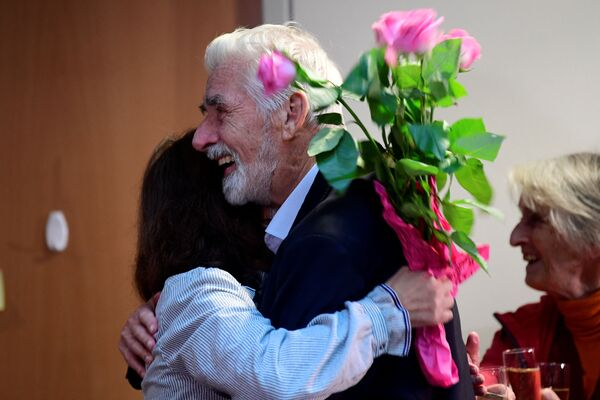 ノーベル物理学賞を受賞した、独マックスプランク気象学研究所の名誉教授、クラウス・ハッセルマン氏(5日、ドイツ・ハンブルグの同研究所にて) - Sputnik 日本