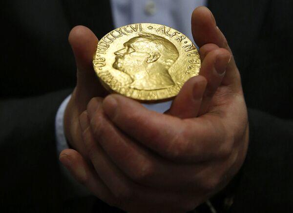ノーベル平和賞のメダル - Sputnik 日本