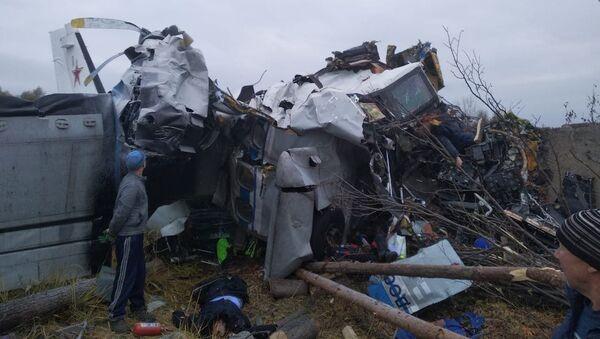 ロシア・タタルスタンで L-410航空機墜落  - Sputnik 日本