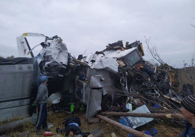 ロシア・タタルスタンで L-410航空機墜落
