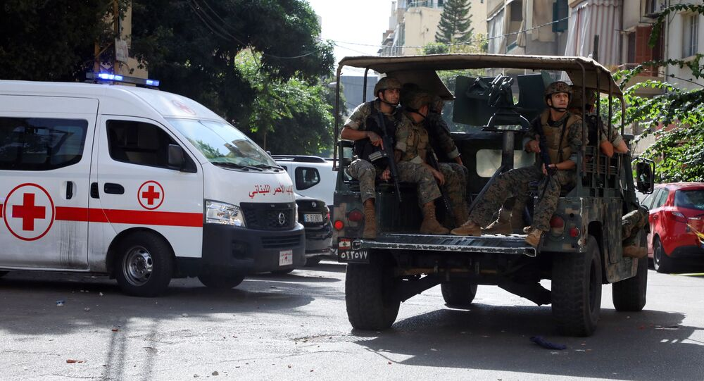ベイルート デモ参加者に発砲 3人死亡、12人が負傷
