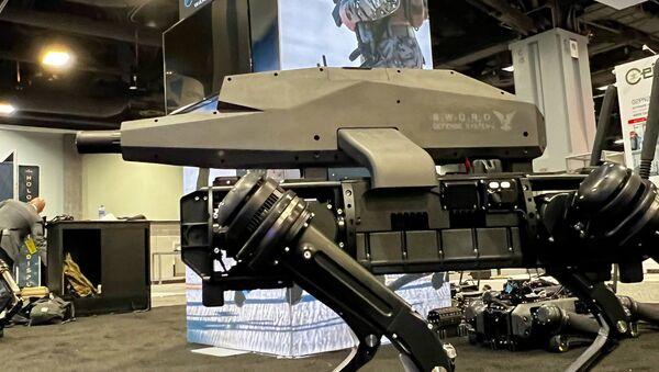 米国 アサルトライフル搭載の新ロボット犬がプレゼン - Sputnik 日本