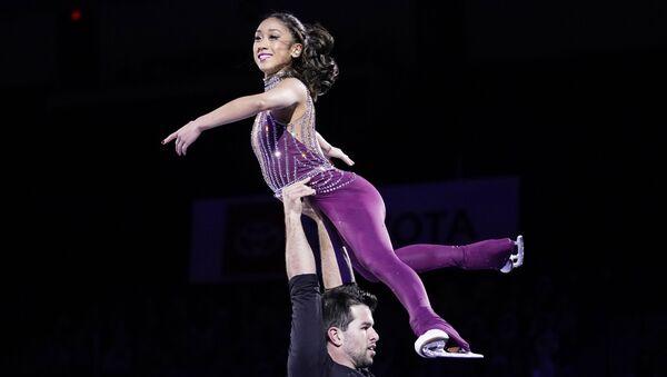 ドーピング検査で禁止物質が検出された米フィギュアスケート選手、罰を免れる - Sputnik 日本