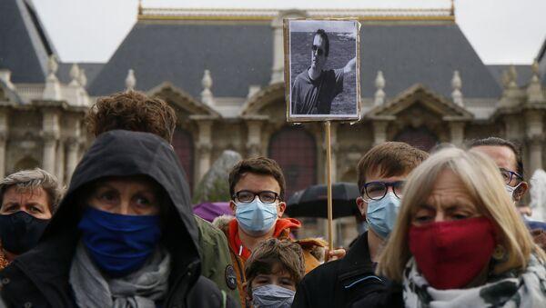 フランス教師斬首事件から1年 追悼式 - Sputnik 日本