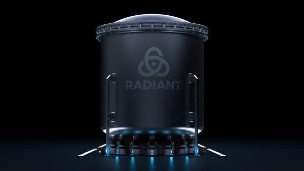 Проект портативного атомного микрореактора мощностью 1 МВт компании Radiant Nuclear - Sputnik 日本