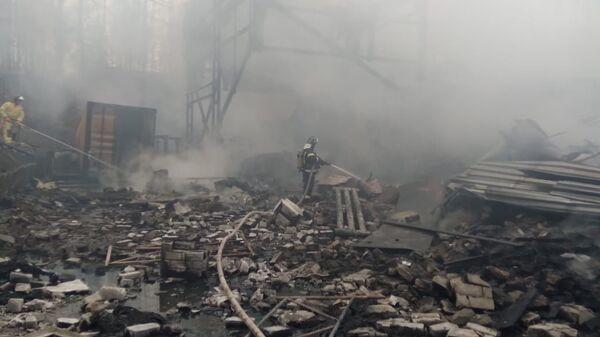 ロシアの火薬工場の爆発で16人が犠牲に - Sputnik 日本
