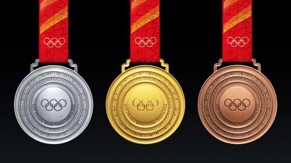 中国 2022年北京五輪のメダルのデザインを公開 - Sputnik 日本