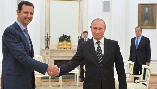 アサド大統領ーロシアはダーイシュと戦っている唯一の真剣な軍 - Sputnik 日本