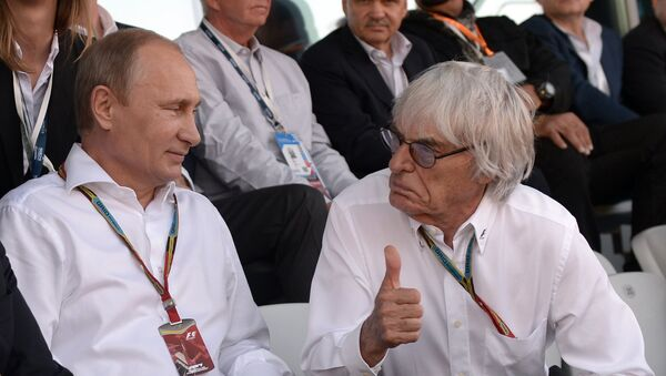 F1のCEO、ヨーロッパはプーチン大統領が仕切るべき - Sputnik 日本