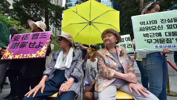 日本軍の慰安婦として強制的に働かされた韓国の女性たち - Sputnik 日本
