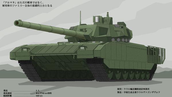 次世代T-14型戦車「アルマタ」 - Sputnik 日本