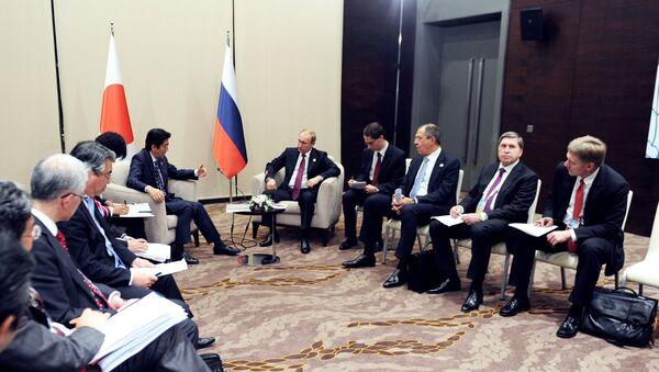 プーチン大統領と安倍首相 - Sputnik 日本