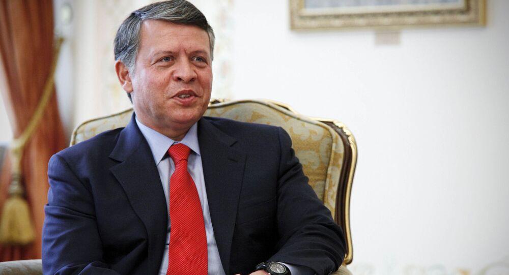 ヨルダン王「イラク西部におけるIS復興と強化」