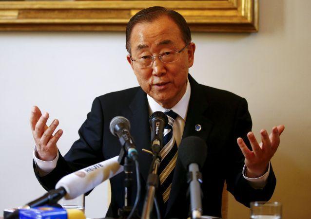 潘基文氏 イランが武器禁輸措置に違反した可能性を受けて懸念を表明