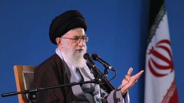 Верховный лидер Ирана аятолла Али Хаменеи - Sputnik 日本