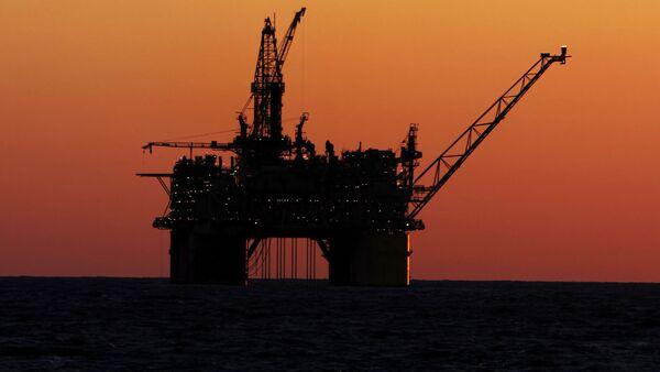 Нефтяная платформа у берегов Мексики - Sputnik 日本