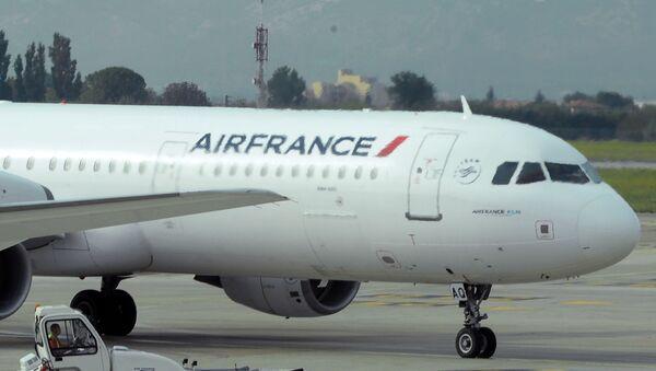 Air France plane - Sputnik 日本