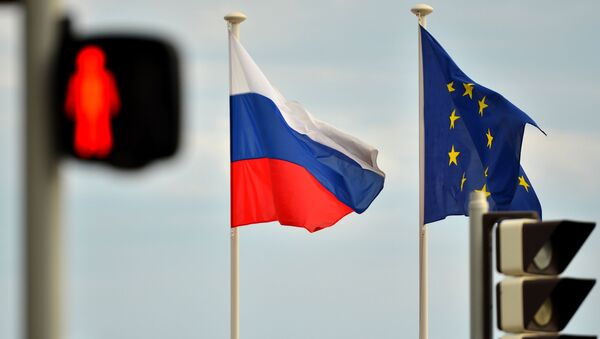 ロシアと欧州の旗(アーカイブ写真) - Sputnik 日本