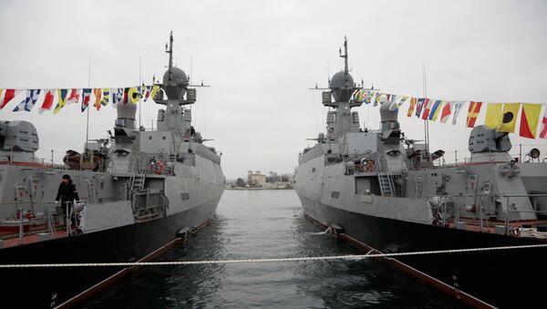 黒海艦隊に「カリブル」ミサイルを搭載した2隻が加わる - Sputnik 日本