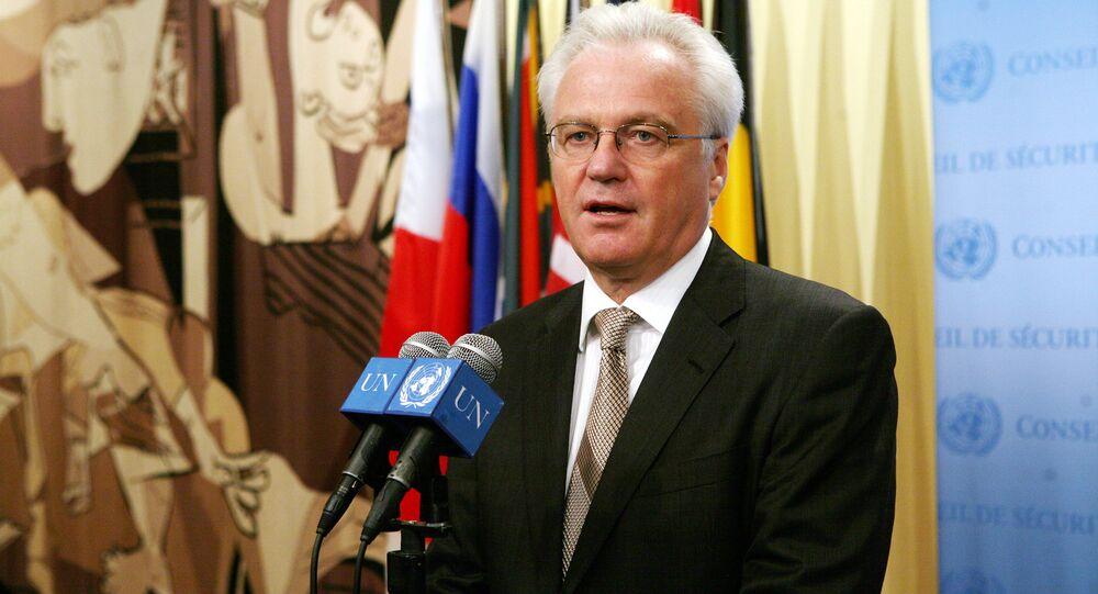 ロシアのヴィターリイ・チュルキン国連大使