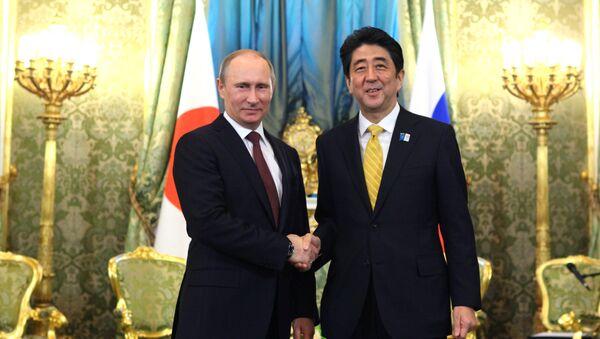 安倍首相とプーチン大統領 - Sputnik 日本