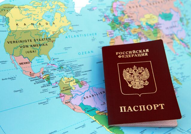 ロシアのパスポート