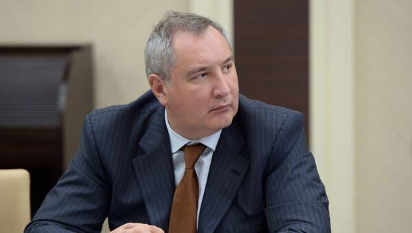 ロシア国営宇宙企業のドミトリー・ロゴジンCEO(アーカイブ写真) - Sputnik 日本