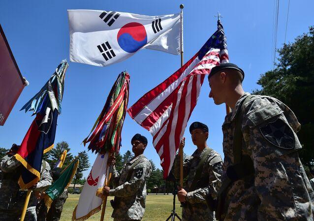 在韓米軍基地