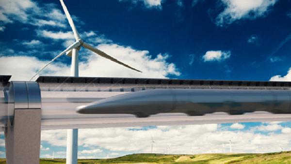 Hyperloop Transportation System - Sputnik 日本
