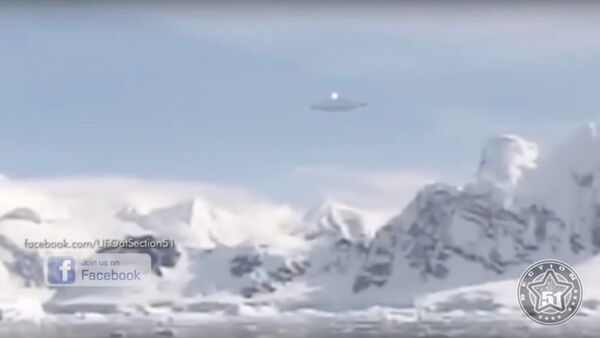 ノルウェーの南極観測隊 UFOを撮影 - Sputnik 日本